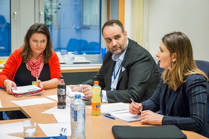 08 February 2017, Meeting of Mr Freso and the V4 CoR members Belgium - Brussels - February 2017 (C) European Union / Aurore Belot