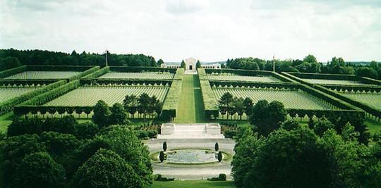 Americký vojenský cintorín v Meuse/Argonne vo Francúzsku