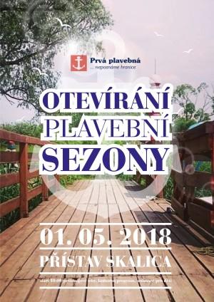 Pristav Skalica - otevirani plavebni sezony 2018