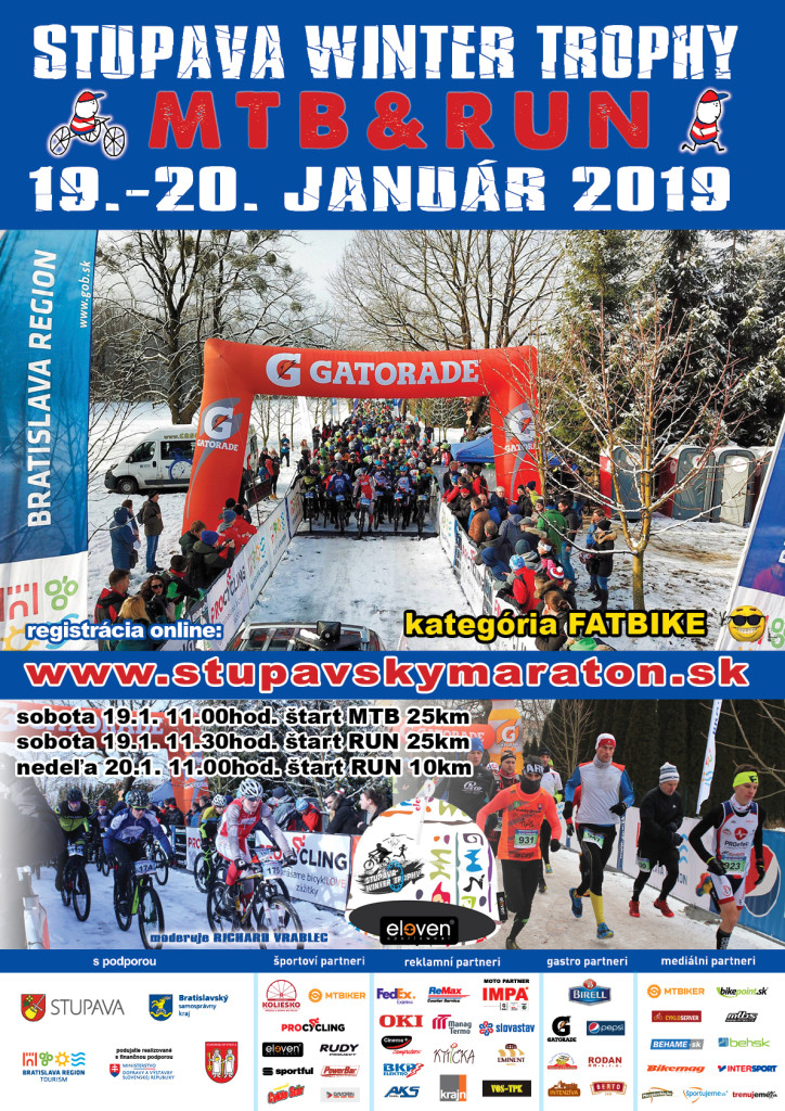 PLAGAT - STUPAVA WINTER TROPHY 2019