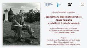 Koreszka_spomienkove_podujatie,19.3.2020,pozvanka
