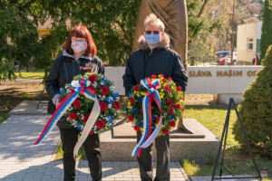 Fotografia - Pietna spomienka pri príležitosti 75. výročia oslobodenia mesta Senica od fašizmu - 1